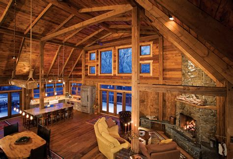 Kitchen Cabinets Minneapolis barn raising a minneapolis family s vacation home on lake