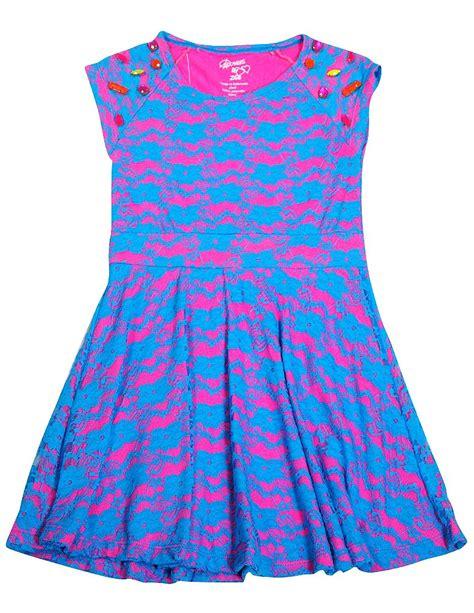 Dress Zoe Sleeve Flower Dress Hat flowers by zoe cap sleeve lace dress blue