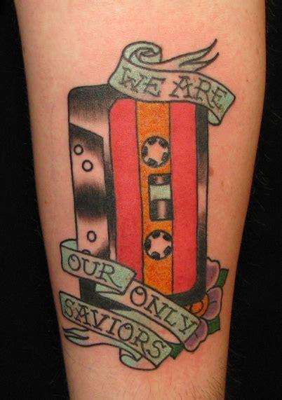 cassette tape tattoo cassette purr