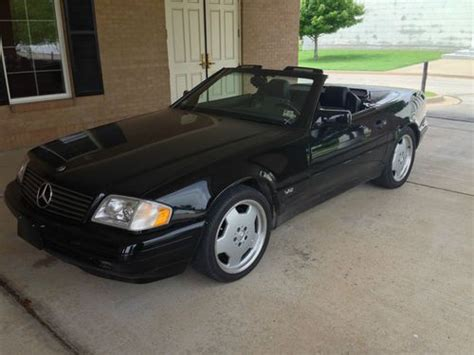 where to buy car manuals 1996 mercedes benz c class interior lighting buy used mercedes sl600 convertible v12 1996 500 hp 54k free shipping in tulsa oklahoma