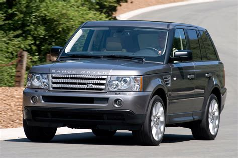 land rover range rover 2009 2009 range rover sport specifications and features