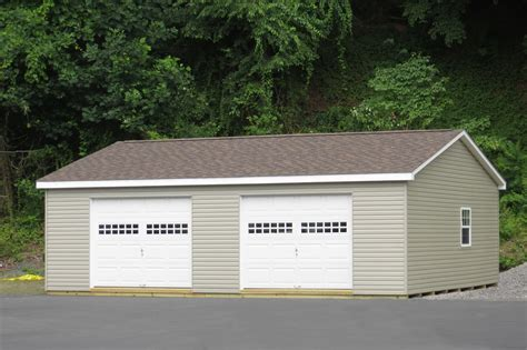 Garage Prebuilt by Modular Prebuilt Garages For Sale From Lancaster Pa