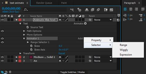 adobe after effects text animation templates images