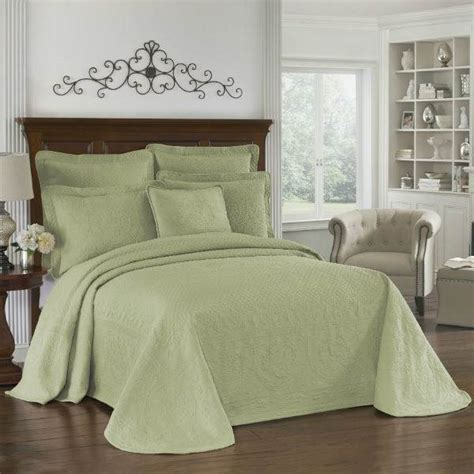 sage coverlet shop historic charleston king charles matelasse sage