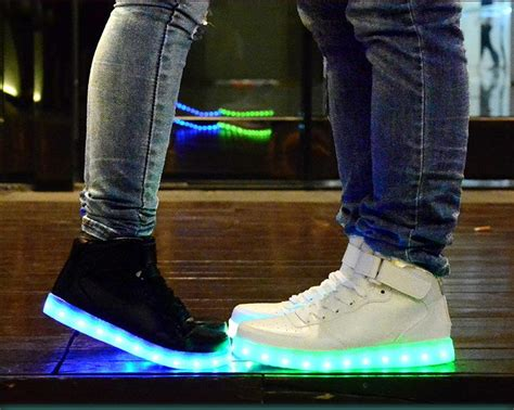 light up tennis shoes for adults prettybaby led light up shoes for adults high top big size
