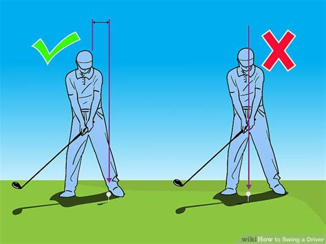 how to swing a golf club driver correctly how to swing a driver 10 steps with pictures wikihow