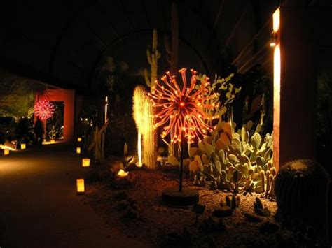 Desert Botanical Garden Luminaries Luminarias And Light Show Picture Of Desert Botanical Garden Tripadvisor