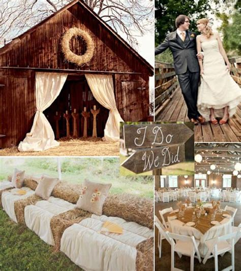 country themed wedding decorations ideas for an unforgettable wedding