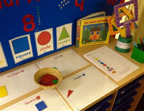new year maths for eyfs maths interactive display 2d shapes shapes