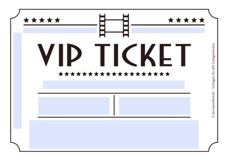 Word Vorlage Eintrittskarte Drucke Selbst Kostenloses Kinoticket Zum Ausdrucken