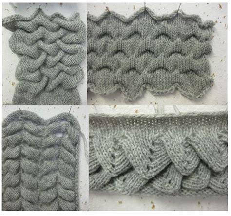 crocodile stitch knit pattern 165 best puntos y t 233 cnicas de tejido a m 225 quina images on