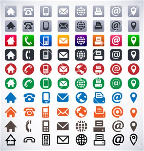 icons for business cards free 12 phone vector icon business card images business card
