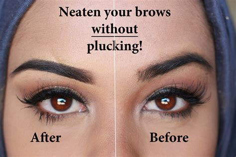 Reasons To Thread Your Eyebrows by Neaten Your Eyebrows Without Plucking
