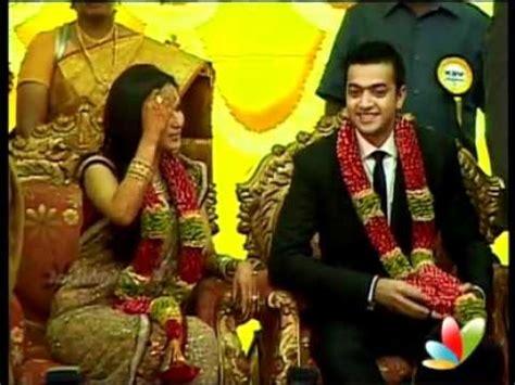 soundarya rajinikanth's wedding reception youtube