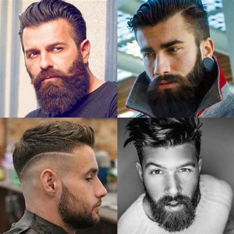 hairstyles 2018 with beard full beard styles 2018