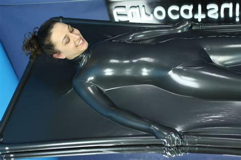 latex vac bed latex vacbed with collar airtight