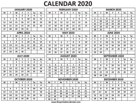 calendar  months calendar   page  printable calendar