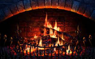 Fireplace Background Animated by Fireplace Screensaver