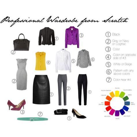 Professional Capsule Wardrobe by Build A Professional Wardrobe School
