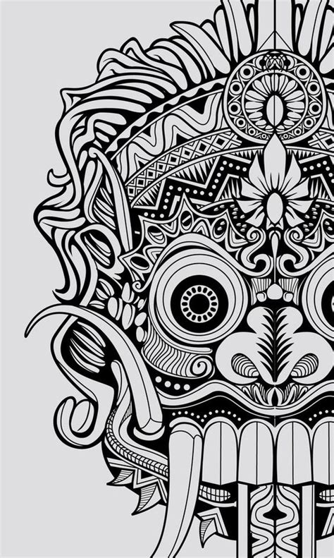 barong tattoo color barong drawing tattoo pinterest student centered