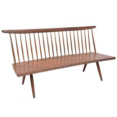 nakashima bench george nakashima walnut bench for sale at 1stdibs