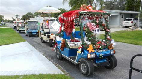 golf carts decerated for christnas decorated golf cart ideas the best cart