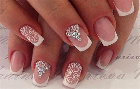 imagenes decoracion de uñas blancas u 241 as decoradas para el d 237 a de tu boda u 241 asdecoradas club