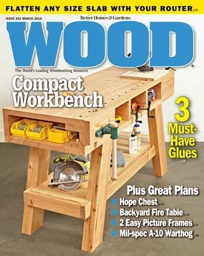 wood pattern magazines top 10 craft magazines better homes gardens make