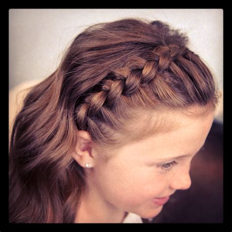 Cute Hairstyles Headband Braid | dutch lace braided headband braid hairstyles cute