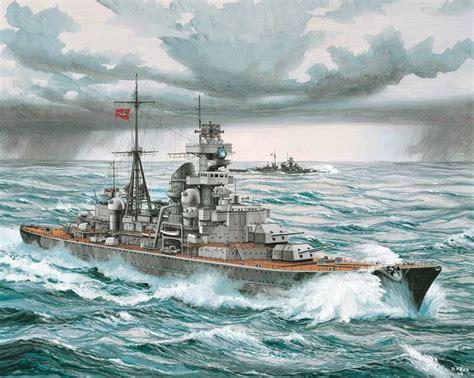 boat service eugene kriegsmarine schwere kreuzer prinz eugen german heavy