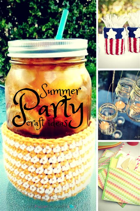 summer party decorations summer party ideas 20 simple diy party decorations more