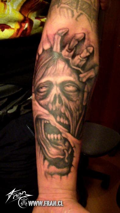 zombie tattoo ink zombie tattoos and designs page 67