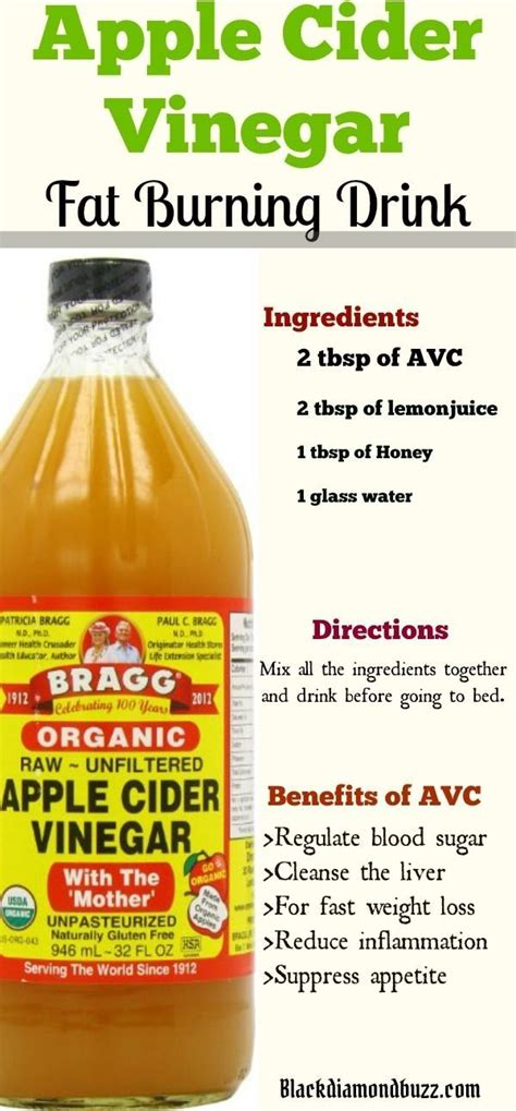 Detox 1 Week Weight Loss by Apple Cider Vinegar For Weight Loss In 1 Week How Do You