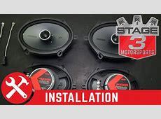 2008-2016 F250/F350 Super Duty Kicker KSC68 6x8 Speaker ... 2008 F350
