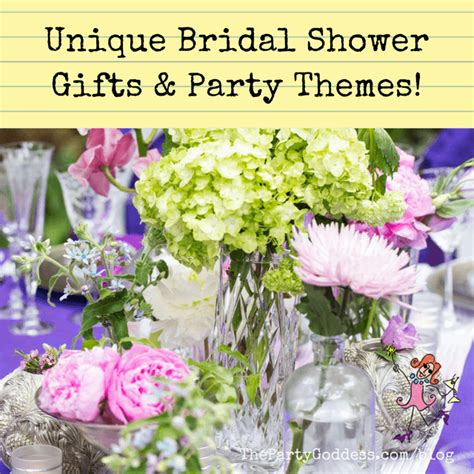unique bridal shower theme ideas unique bridal shower gifts themes