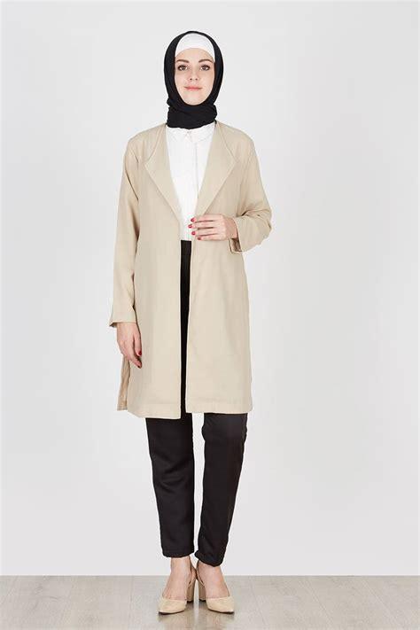 Outer Lengan Panjang Cardigan Bolero Blazer Panjang Vest Kardy Batik baju atasan muslim model outer paling modern dan trendy