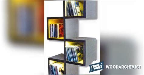 wall bookshelf plans woodarchivist