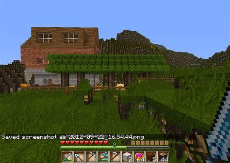 Großes Haus In Minecraft Download - Minecraft hauser schnell bauen