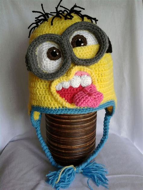 pinterest minion pattern minion crochet hat pattern by mistybellecrochet on etsy