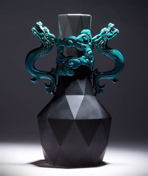 design form in yii yii design panlong vase by chen hsu liu