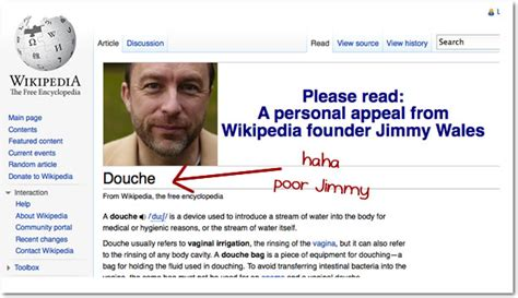 Wikipedia Donation Meme - i love it when wikipedia asks for donations the oatmeal