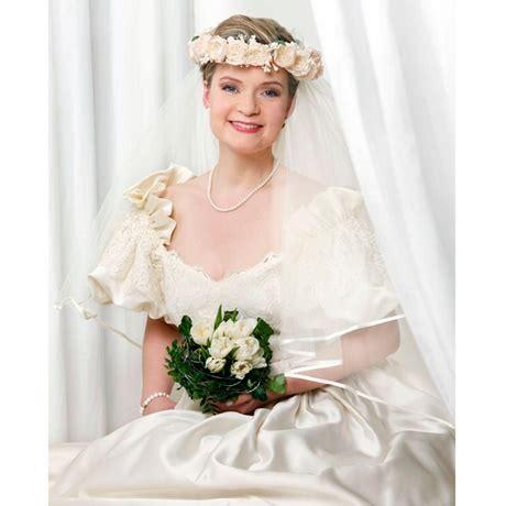 Hochzeitsfrisur Blumenkranz by Hochzeitsfrisur Mit Blumenkranz