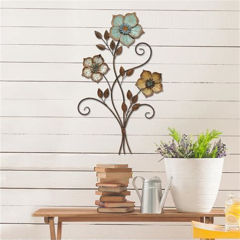 stratton home decor stratton home decor stratton home decor tricolor flower