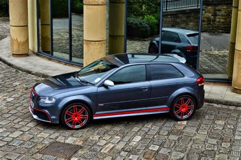 audi rs3 3 porte audi a3 to rs3 3 door side skirts xclusive customz