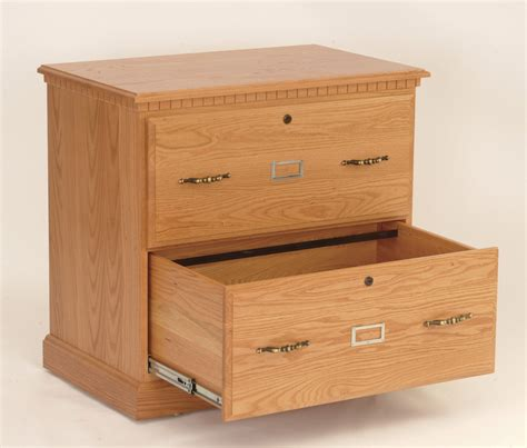 Cabinet Drawer by 2 Drawer Lateral File Cabinet Amish Handmade