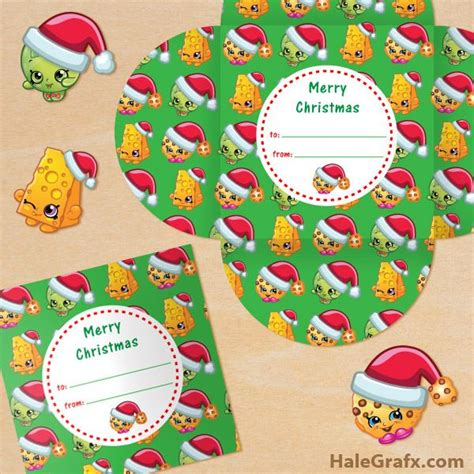 Free Printable Christmas Gift Cards - 22 best shopkins images on pinterest free printable free shopkins and party printables
