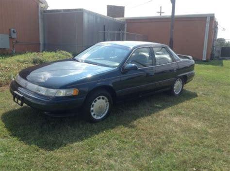 how make cars 1988 mercury sable transmission control buy used 1994 mercury sable ls sedan 4 door 3 8l 37k in merchantville new jersey united states
