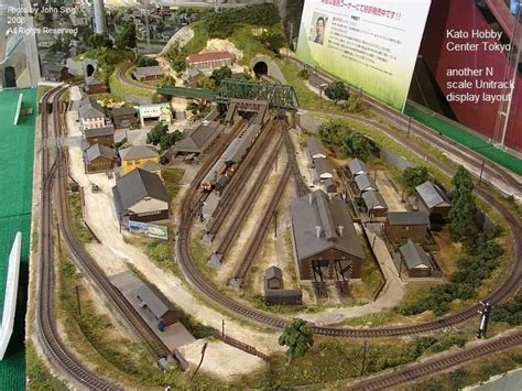 model railroad layout software atlas kato tokyo n scale layout model railways pinterest