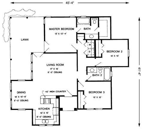 house designs floor plans 3 bedrooms 1207 square feet 3 bedrooms 2 batrooms on 1 levels