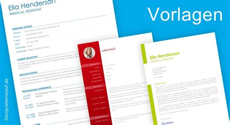 Amerikanischer Lebenslauf Vorlage Englisch Resume Template With Cover Letter For A Application